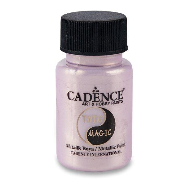 Metalická barva Cadence Twin Magic zlatá/lila