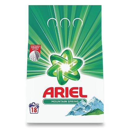 Obrázek produktu Ariel Mountain Spring - prací prostředek - prášek, 18 dávek