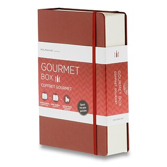 Obrázek produktu Dárková sada Moleskine Passion Gourmet Box pro gurmety - 2 zápisníky a lístky pro hodnocení