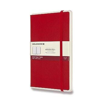 Obrázek produktu Zápisník Moleskine Smart Writing - L, linkovaný, červený