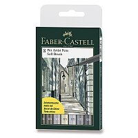 Popisovač Faber-Castell Pitt Artist Pen Soft Brush