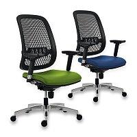 Kancelářská židle Antares 1840 Syn Fusion Perf Alu