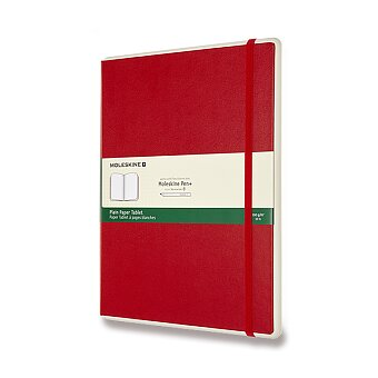 Obrázek produktu Zápisník Moleskine Smart Writing - XL, čistý, červený