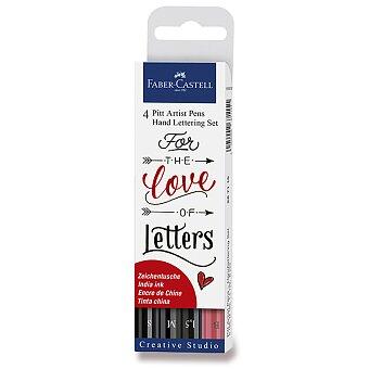 Obrázek produktu Popisovač Faber-Castell Pitt Artist Pen Hand Lettering - 4 kusy