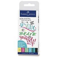 Popisovač Faber-Castell Pitt Artist Pen Hand Lettering