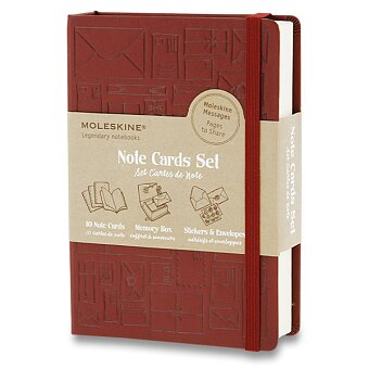 Obrázek produktu Moleskine Note Cards Set - dárková sada