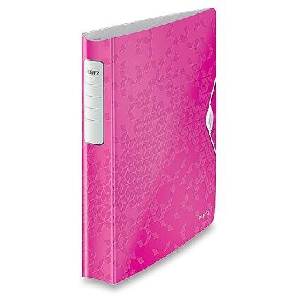 Obrázek produktu Leitz Softclick Wow - 4kroužkový pořadač - A4, růžový