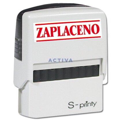 Obrázek produktu Trodat 4911 - samoBarvicí razítko s textem ZAPLACENO