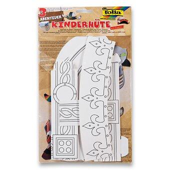 Obrázek produktu Papírové korunky k dotvoření - Dobrodružství, 3 kusy