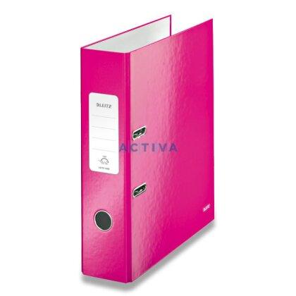 Obrázek produktu Leitz Wow - pákový pořadač - 80 mm, růžový