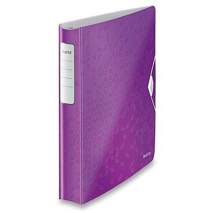 Obrázek produktu Leitz Softclick Wow - 4kroužkový pořadač - A4, fialový