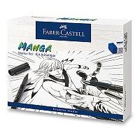 Popisovače Faber-Castell Pitt Artist Pen Manga