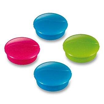 Obrázek produktu Silné magnety Maped - průměr 27 mm, 4 ks, mix barev