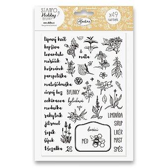 Obrázek produktu Razítka Stampo Hobby - Bylinky - 49 ks