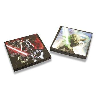 Obrázek produktu Papírové ubrousky Star Wars - 33×33 cm, 20 ks