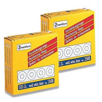 Obrázek produktu Samolepicí zpevňovací kroužky Avery Zweckform - 500 ks, výběr barev
