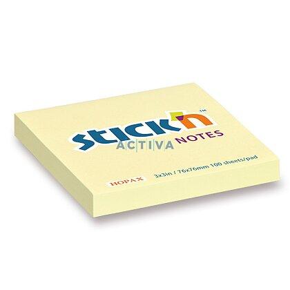 Obrázek produktu Hopax Stick'n Notes - samolepicí bloček - 76 × 76 mm, 100 l.