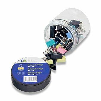 Obrázek produktu Kovové klipy Molho Leone - 19 mm a 25 mm, mix barev