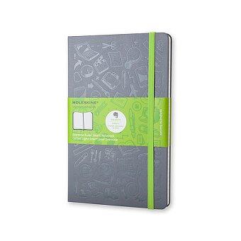 Obrázek produktu Zápisník Moleskine Evernote - tvrdé desky - L, linkovaný, šedý