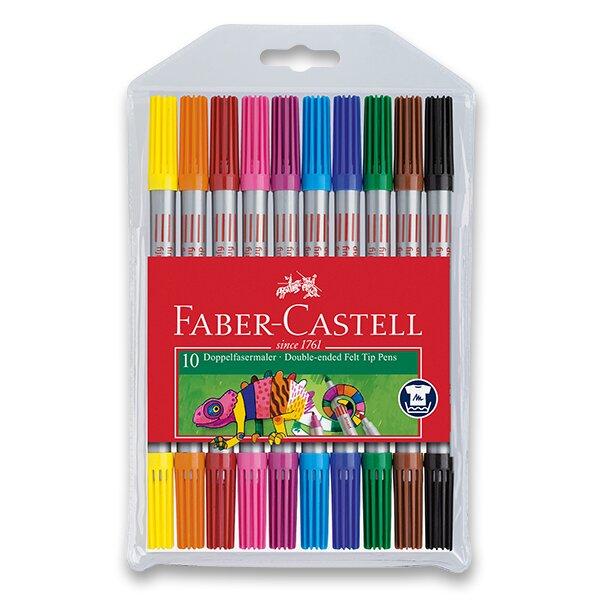 Dětské fixy Faber-Castell 10 barev