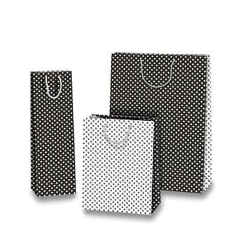Obrázek produktu Dárková taška Black & White - různé rozměry