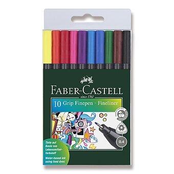 Obrázek produktu Fineliner Faber-Castell Grip - 10 barev