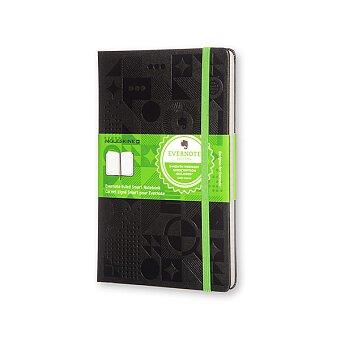 Obrázek produktu Zápisník MOLESKINE Evernote - tvrdé desky - L, linkovaný, černý