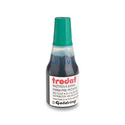Obrázek produktu Trodat - razítkovací barva - 25 ml, zelená