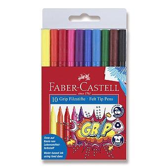 Obrázek produktu Dětské fixy Faber-Castell Grip - 10 barev