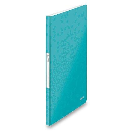 Obrázek produktu Leitz Wow - katalogová kniha - 20 kapes, tyrkysová