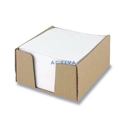 Obrázok produktu Lepenkový box na poznámkový papier - 10 × 10 × 6 cm