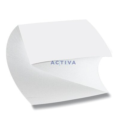 Obrázok produktu Poznámkový papier - lepený, 9 x 9 x 5 cm, 500 l., špirála