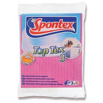 Obrázek produktu Houbová utěrka Spontex Top Tex - 15,5 x 18,5 cm, výběr balení