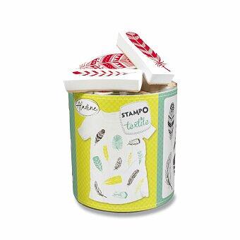 Obrázek produktu Razítka Aladine Stampo Textile - Peříčka