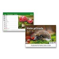 Stolní kalendář Naše příroda