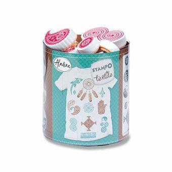 Obrázek produktu Razítka Aladine Stampo Textile - Etno, 16 ks