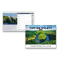 Stolní kalendář Tipy na výlety