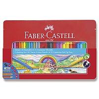 Kreativní sada Faber-Castell - fixy Connector a pastelky