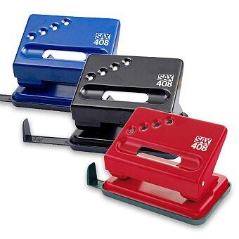 Obrázek produktu Děrovačka SAX 408 - na 30 listů, výběr barev