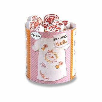 Obrázek produktu Razítka Aladine Stampo Textile - Věneček květin
