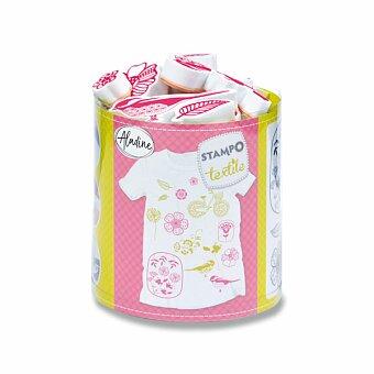Obrázek produktu Razítka Aladine Stampo Textile - Kytičky