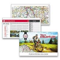 Stolní kalendář Tipy na cyklovýlety