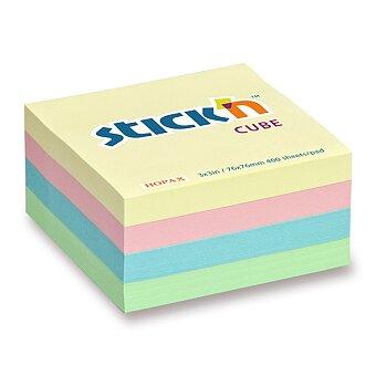 Obrázek produktu Samolepicí bloček Hopax Stick'n Pastel Notes - 76 × 76 mm, 400 listů