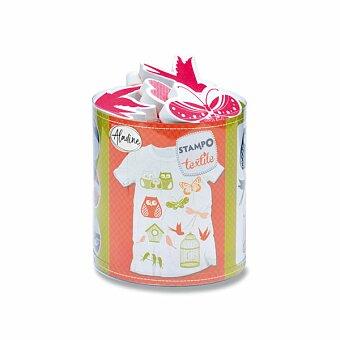 Obrázek produktu Razítka Aladine Stampo Textile - Příroda, 12 ks
