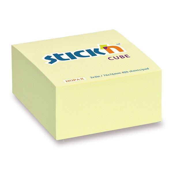 Samolepicí bloček Hopax Stick'n Notes 76 x 76 mm, 400 listů