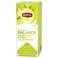 Zelený čaj Lipton Green Tea Citrus