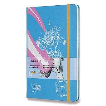Obrázek produktu Zápisník Moleskine Gundam - tvrdé desky - L, linkovaný, modrý