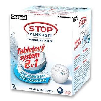 Obrázek produktu Náhradní tablety 2 v 1 Ceresit Stop vlhkosti Micro - 2 x 300 g