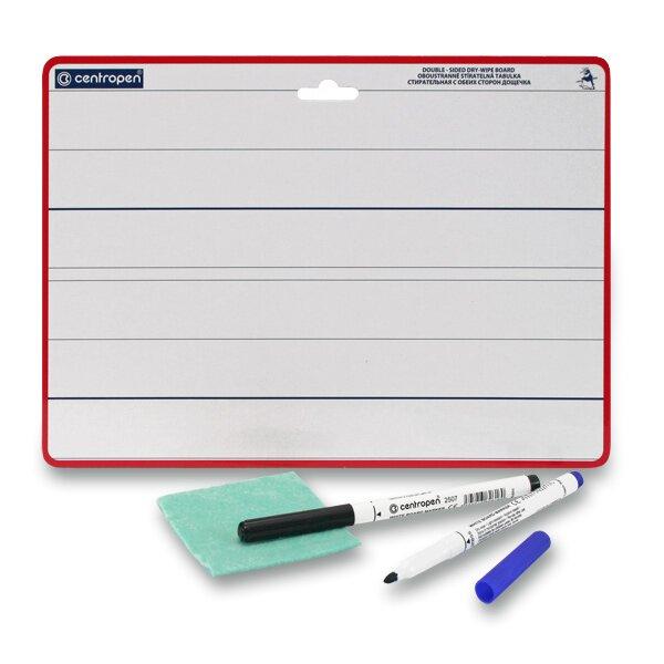 Stíratelná tabulka Centropen 7719 pro 1. třídu základní školy formát A4
