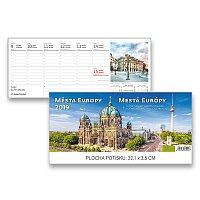 Stolní kalendář Města Evropy